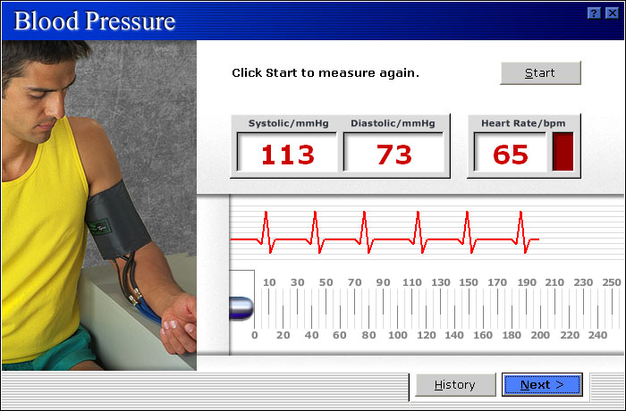 MicroFit Blood Pressure Assessment