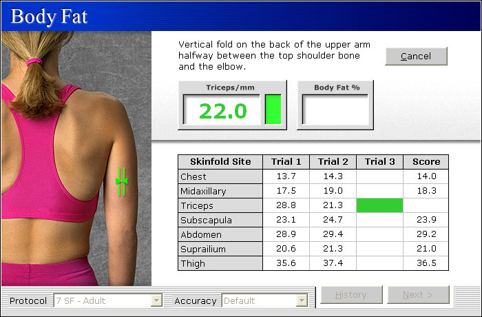 MicroFit Body Fat Assessment